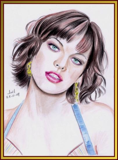 Milla Jovovich by klk68